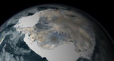 Despite warming temperatures, the sea ice around Antarctica is increasing in extent.