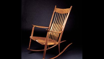 Fine Famous For His Rocking Chair Sam Maloof Made Furniture That Beatyapartments Chair Design Images Beatyapartmentscom