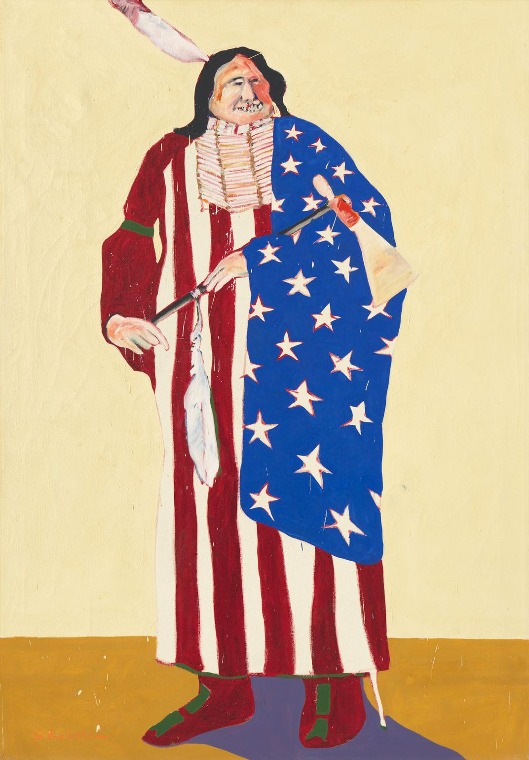 The American Indian, Fritz Scholder, 1970