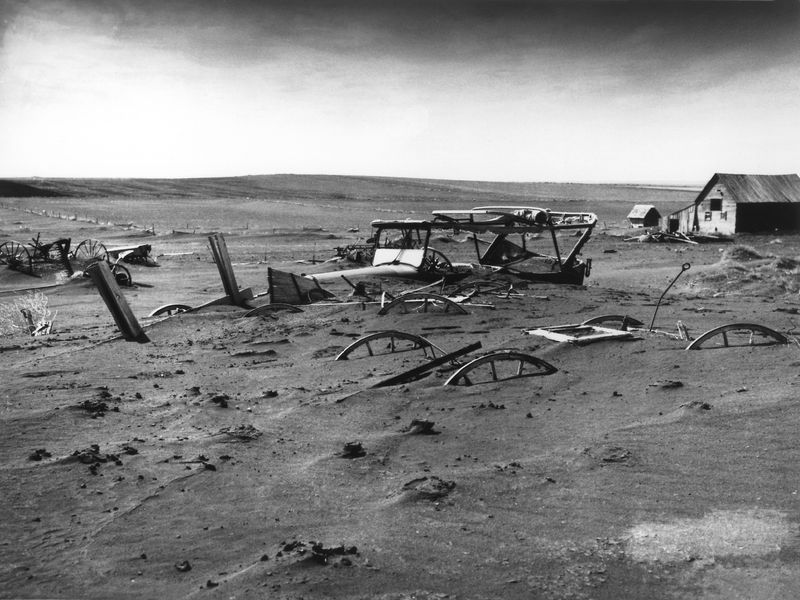 dust bowl photo