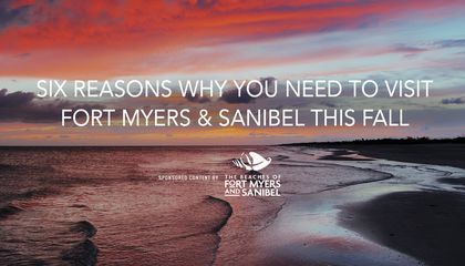 Six Reasons Why You Need to Visit The Beaches of Fort Meyers & Sanibel This Fall