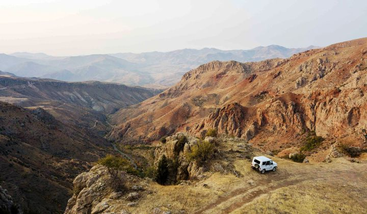Stunning views inside the Arpa Protected Landscape. (Photo by My Armenia Program)