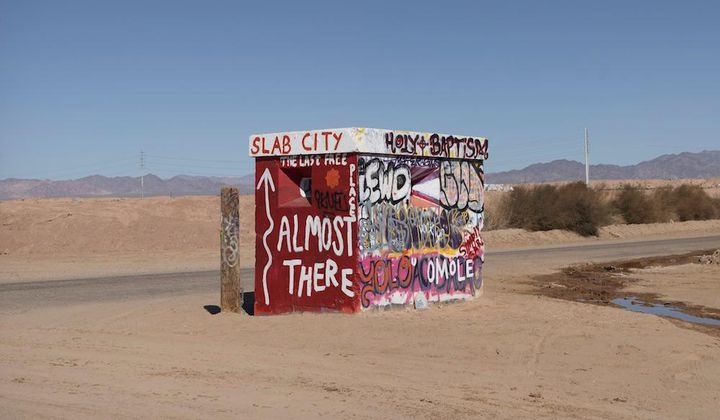 Inside Slab City, a Squatters' Paradise in Cali