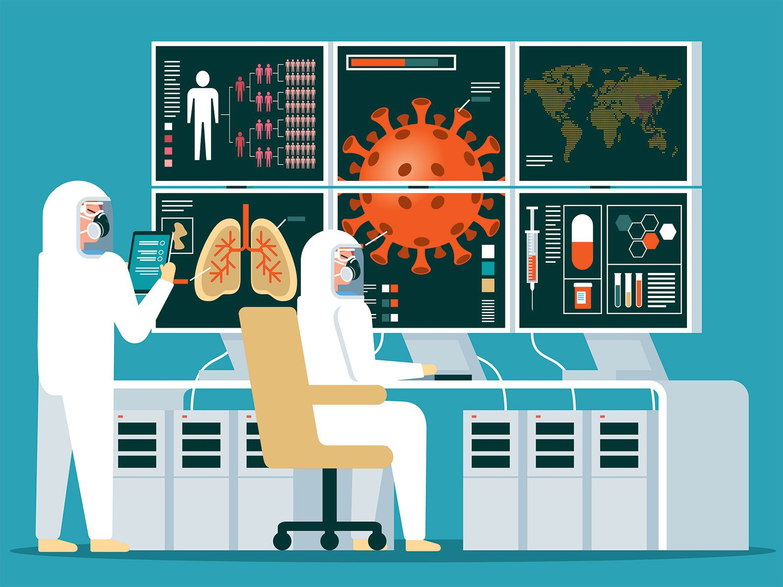 How Doctors Are Using Artificial Intelligence to Battle Covid-19