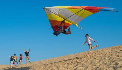 Why Hang Gliding Hangs On