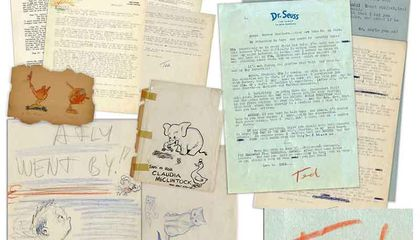 Dr. Seuss' Letters to the Friend Who Launched His Career Are for Sale