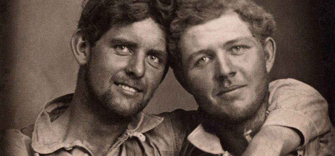 Caption: Photo Collection Highlights Historical Gay Couples