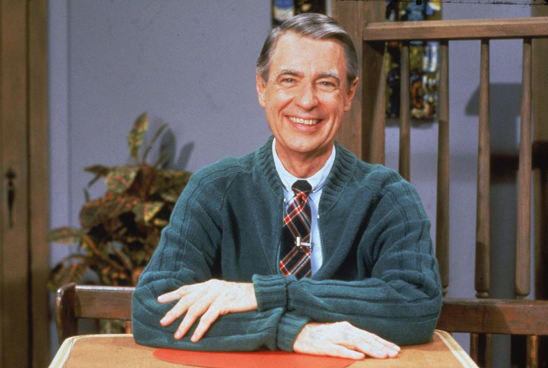 The Behind The Scenes Quest To Find Mister Rogers S Signature Cardigans Arts Culture Smithsonian Magazine