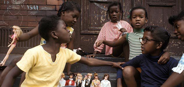 Girls Barbies Harlem 1970 Camilo Jose Vergara