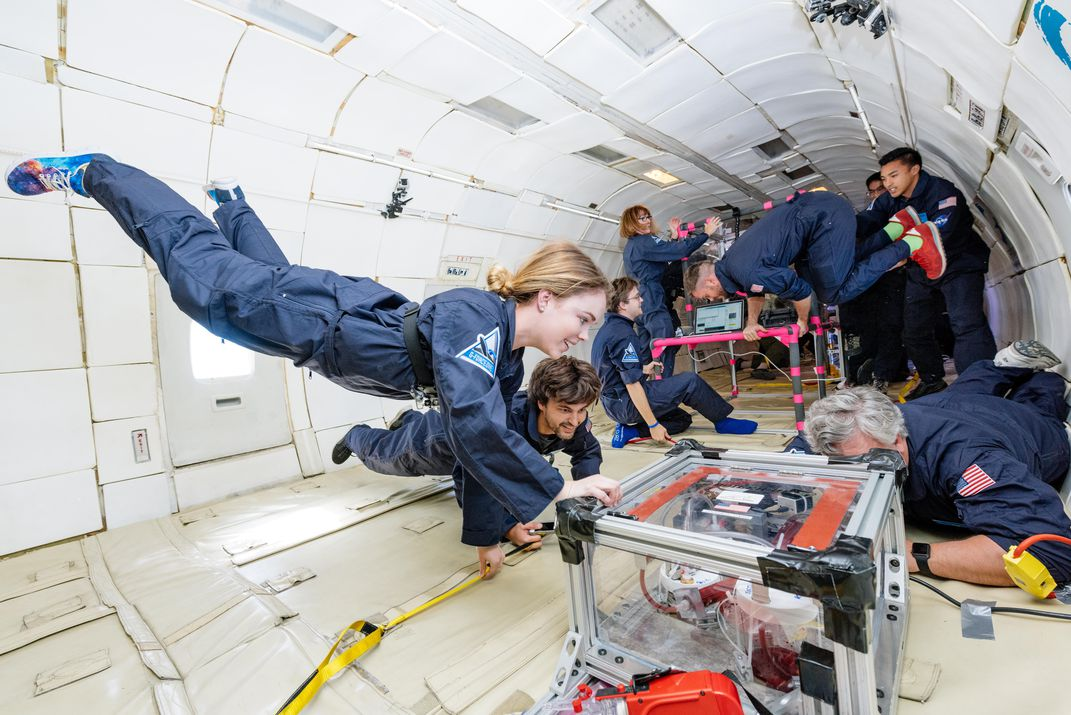 The Future of Zero-Gravity Living Is Here   Science   Smithsonian