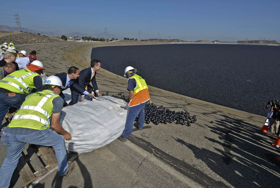 LA gets blackballed (actually, it's just water)