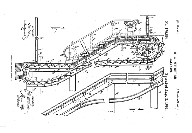 Wheeler escalator patent.png