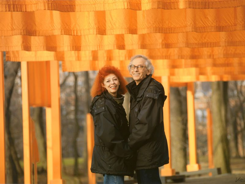 Christo and Jeanne-Claude in 2005