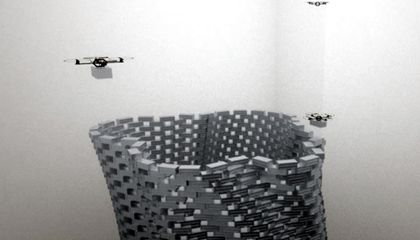 And Now, UAV Construction Workers