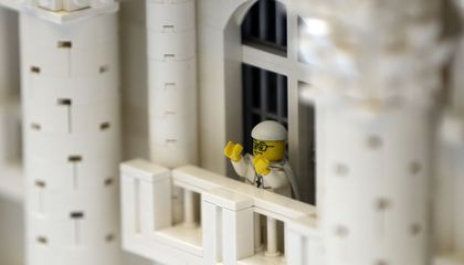 Image: Everything is awesome about DIY Lego model of Vatican