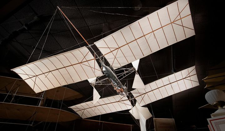 First Powered Flight in 1896?