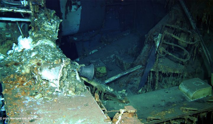 Wreck of the USS Indianapolis Discovered