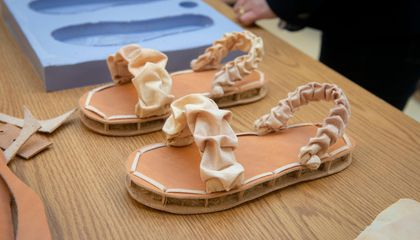 Are These Baked Mushroom Sandals the Future of Fashion?