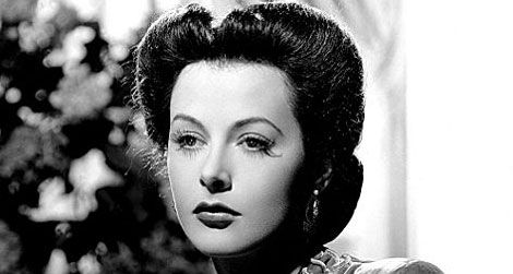 Hedy Lamarr in a 1942 publicity photo