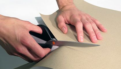 Scissors That Cut Perfectly Straight Lines—Every Time!