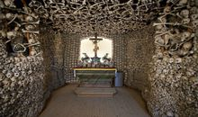 The Main Altar in the Skull Chapel - Kaplica Czaszek - Poland