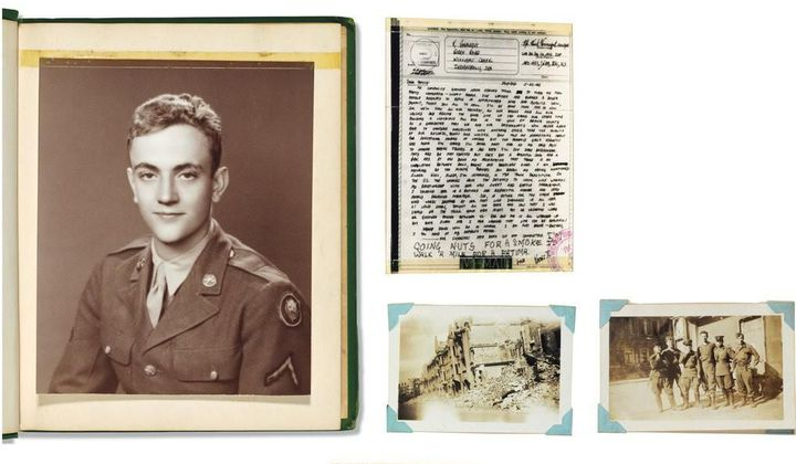 See Kurt Vonnegut's Unpublished WWII Scrapbook