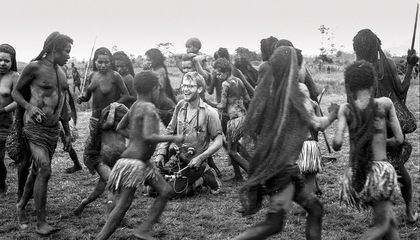 Michael Rockefeller in the Baliem Valley
