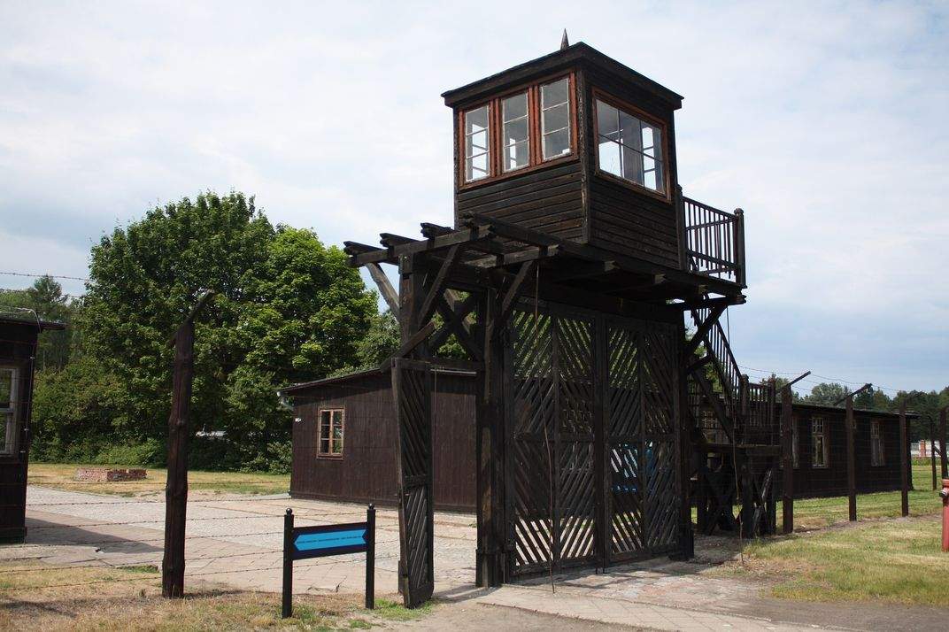 Watch tower at Stutthof