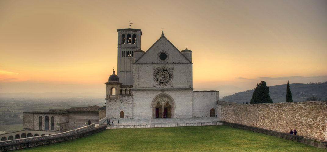 The Basilica of San Francesco d'Assisi