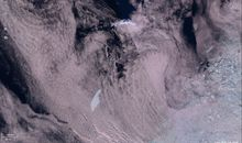 Huge Iceberg Bearing Down on South Atlantic Island