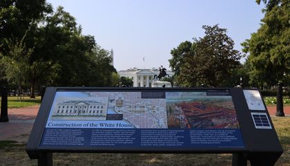 New Plaque Tells Story of Enslaved People Who Helped Build the White House