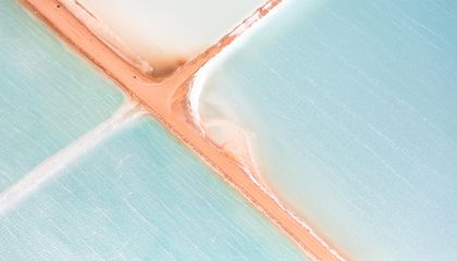 Australia's Salt Ponds Look Like Beautiful, Abstract Art From Above