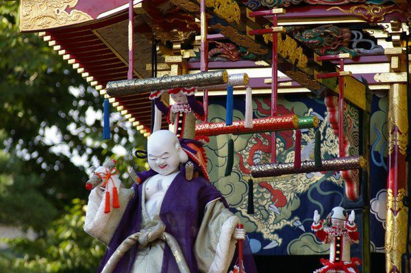 In Japan, autumn means a parade of robot puppets