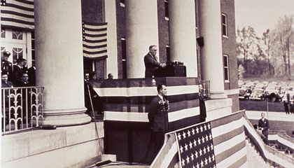See Rare Footage of FDR Speaking at the National Institute of Health