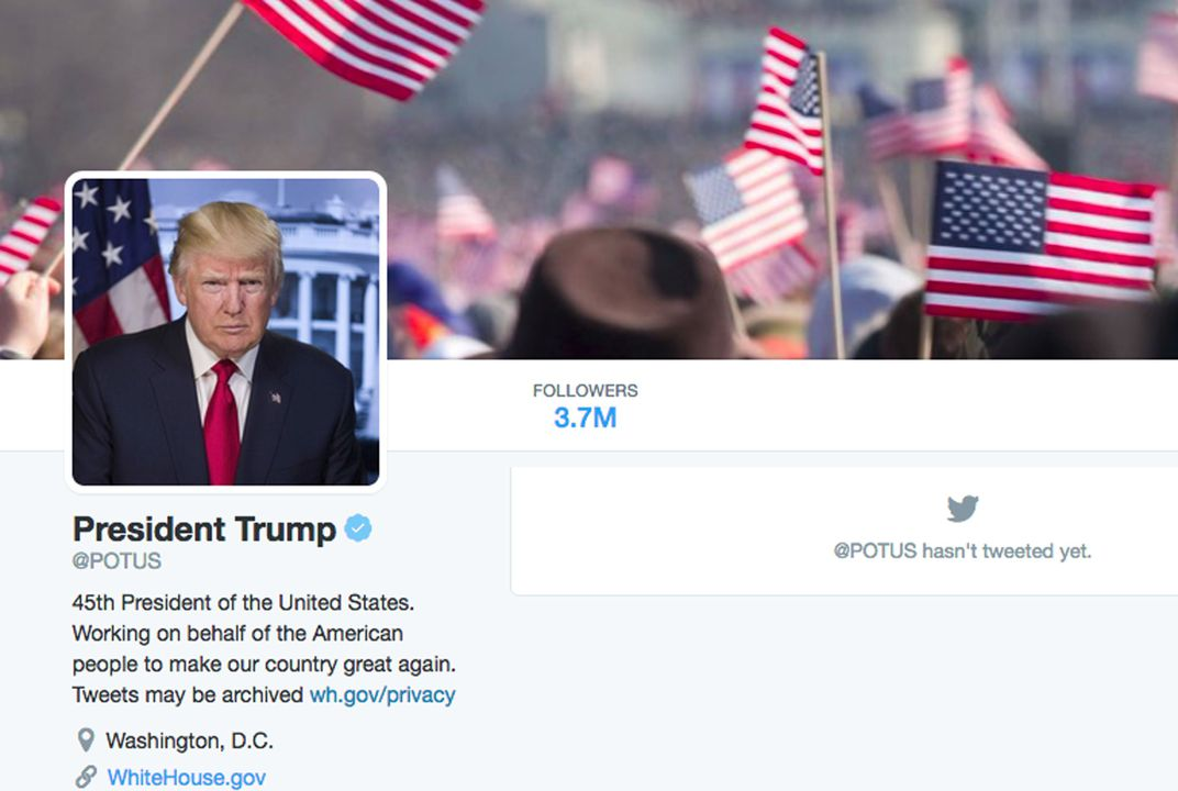 For the first time, social media is included in transfer of presidential power