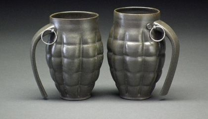 This Steampunk Pottery by a Man Named Beer is Not Your Usual Craft Fair Fare