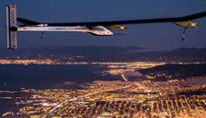 Look Ma, No Fuel! Flying Cross Country on Sun Power