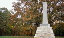 Monument for explorer Meriwether Lewis