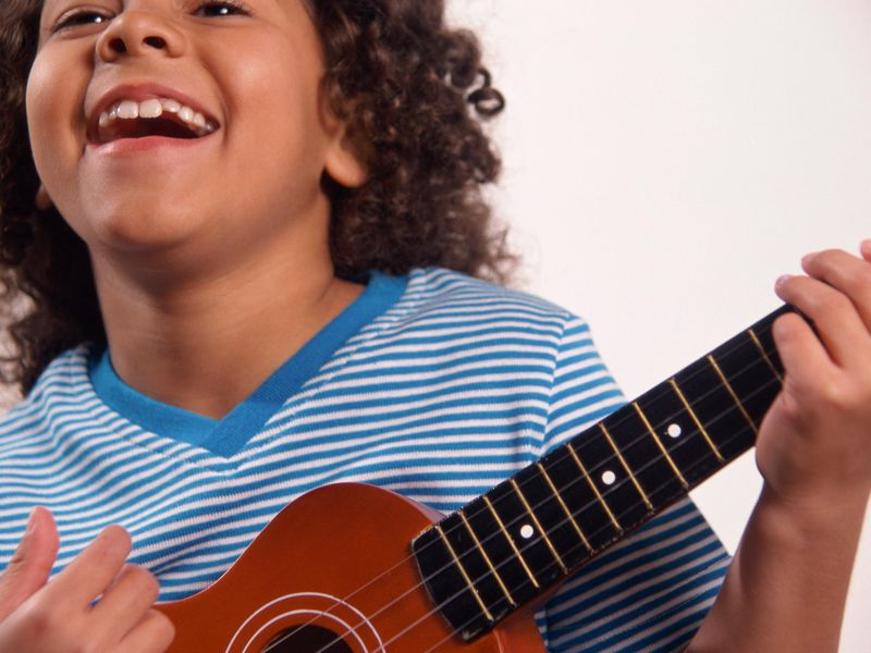 Kid With Ukulele