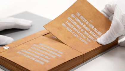 Could This 'Drinkable Book' Provide Clean Water to the Developing World?