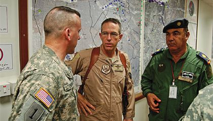 Commanding the Air Force Transition Team in Iraq