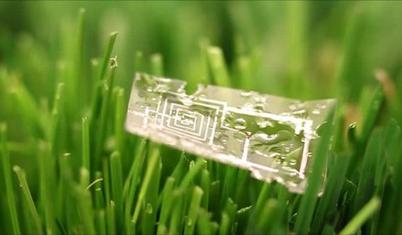 Preview thumbnail for video'New Type of Electronic Circuit Dissolves in Water
