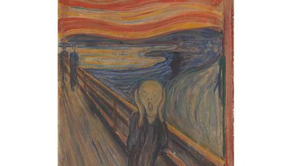 Why Are the Vibrant Colors of 'The Scream' Fading?