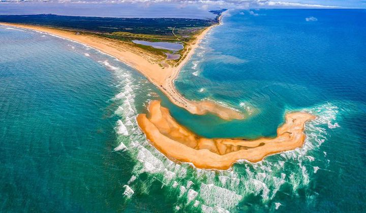 New Island Forms Off the Coast of North Carolina