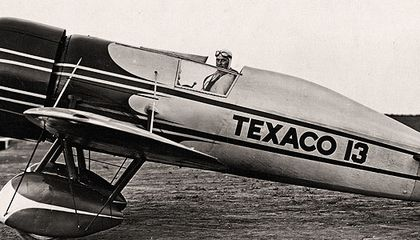 "The ""Texaco 13,"" the most famous Mystery Ship, set more than 200 speed records in the early 1930s.The ""Texaco 13,"" the most famous Mystery Ship, set more than 200 speed records in the early 1930s.The"