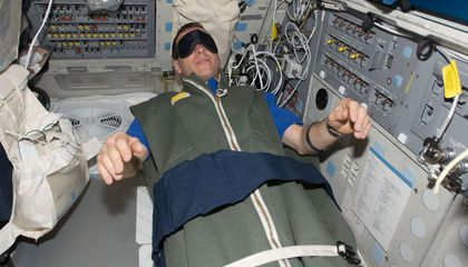 Ask the Astronaut: After your return to Earth did you have trouble sleeping?