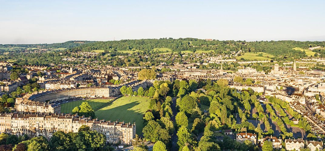 City landscape of Bath