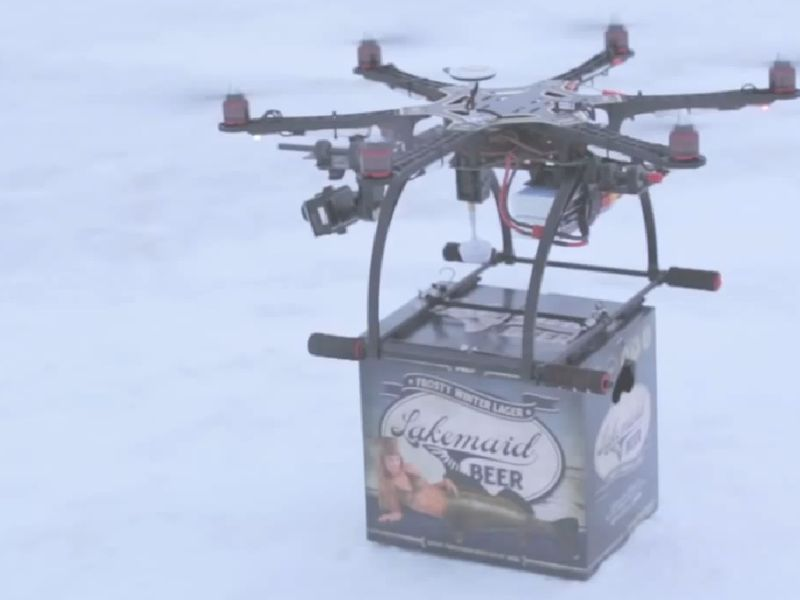Commercial Use Of Drones Is Banned For Now