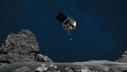 NASA Snags Its First Asteroid Sample