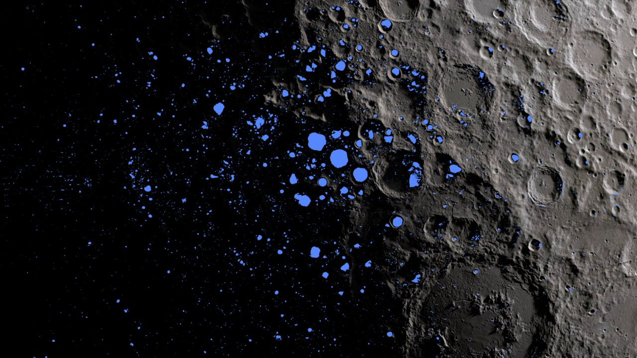 How Much Water Is on the Moon? | Daily Planet | Air & Space